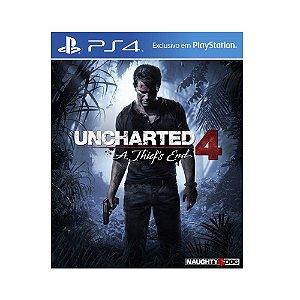 Jogo Uncharted 4: A Thief's End - PS4 (Capa Dura)