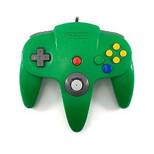 Controle Nintendo 64 Verde Escuro - Nintendo