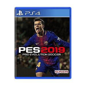 Jogo Pro Evolution Soccer 2019 (PES 2019) - PS4