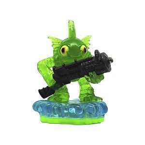 Boneco Skylanders Spyros Adventure: Gill Grunt Verde