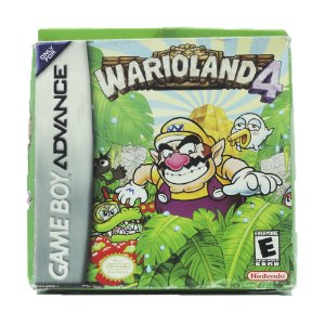 Jogo Wario Land 4 - GBA