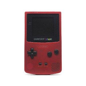 Console Game Boy Color Vermelho - Nintendo