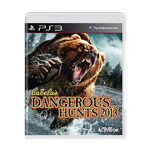 Jogo Cabela's Dangerous Hunts 2013 - PS3