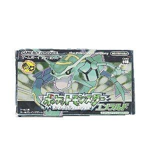 Jogo Pokémon Emerald - GBA