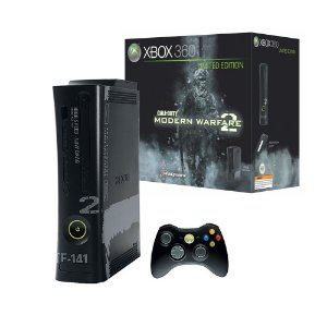 Console Xbox 360 Fat 60GB (Edição Limitada: Call of Duty: Modern Warfare 2) - Microsoft