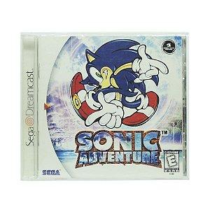 Jogo Sonic Adventure - DreamCast