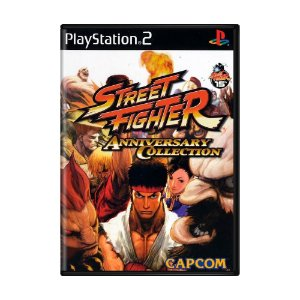 Jogo Street fighter (Anniversary collection) - PS2
