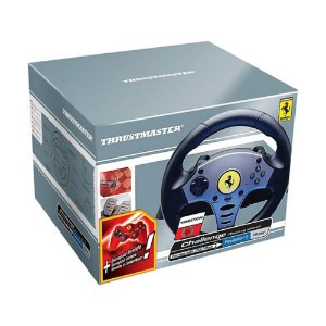 Volante Thrustmaster Challenge Racing Wheel - PS2 e PS1