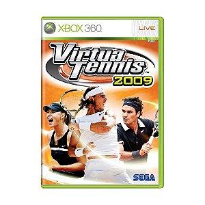 Jogo Virtua Tennis 2009 - Xbox 360