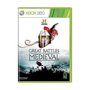 Jogo Great Battles Medieval - Xbox 360
