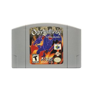 Jogo Ogre Battle 64: Person of Lordly Caliber - N64
