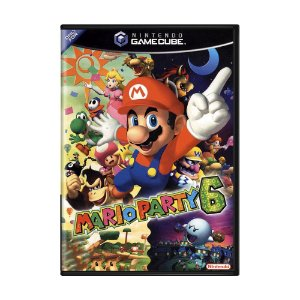 Jogo Mario Party 6 - GameCube
