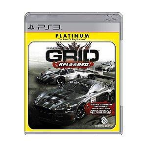 Jogo RaceDriver: Grid Reloaded - PS3