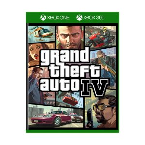 Jogo Grand Theft Auto IV (GTA 4) - Xbox One e Xbox 360
