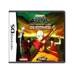 Jogo Avatar: The Last Airbender – The Burning Earth - DS