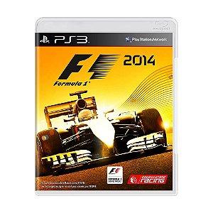Jogo F1 2014 - PS3