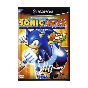 Jogo Sonic Gems Collection - GameCube