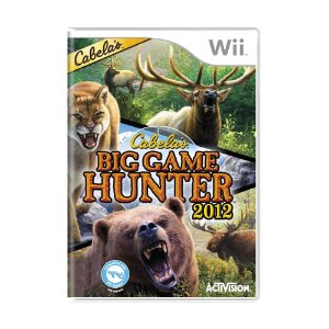 Jogo Cabela's Big Game Hunter 2012 - Wii