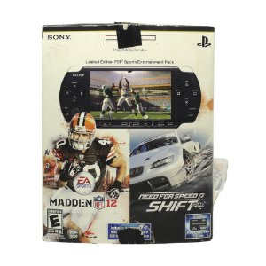 Console PSP PlayStation Portátil 3000 (Limited Edition PSP Sports Entertainment Pack) - Sony