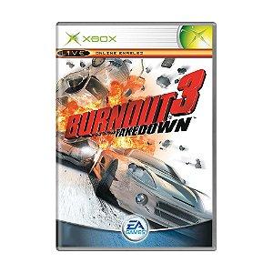 Jogo Burnout 3 Takedown - Xbox