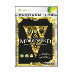 Jogo The Elder Scrolls III: Morrowind (Game of the Year Edition) - Xbox