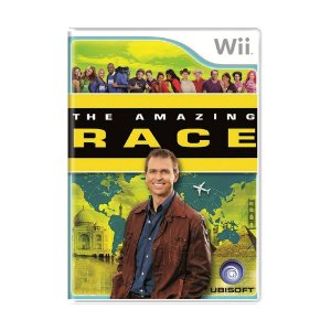 Jogo The Amazing Race - Wii
