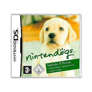 Jogo Nintendogs: Labrador & Friends - DS