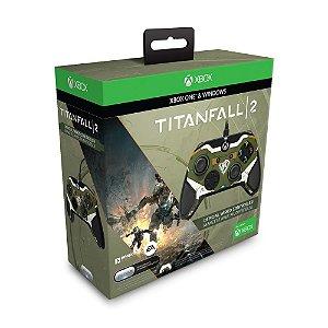 Controle PDP Edição Titanfall 2 (Defeito na entrada P2) - Xbox One