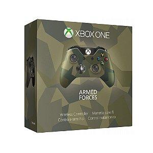 Controle Microsoft (Edição Armed Forces) - Xbox One