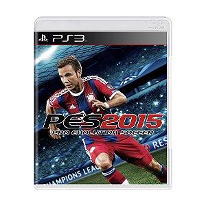 Jogo Pro Evolution Soccer 2015 (PES 15) - PS3