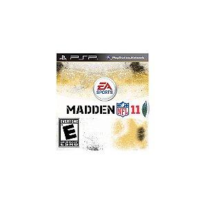 Jogo Madden NFL 11 - PSP (Capa Dura)