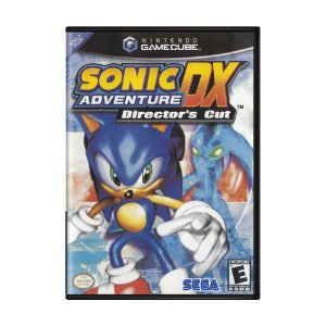 Jogo Sonic Adventure DX Director's Cut Game - GameCube