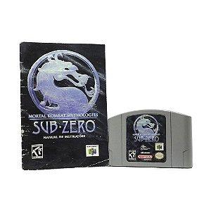 Jogo Mortal Kombat Mythologies: Sub-Zero - N64