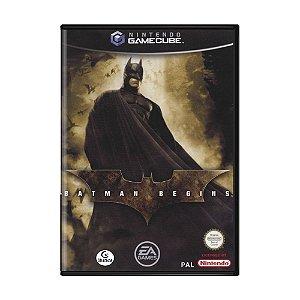 Jogo Batman Begins - GameCube