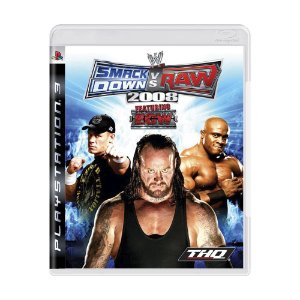 Jogo WWE SmackDown vs. Raw 2008 - PS3