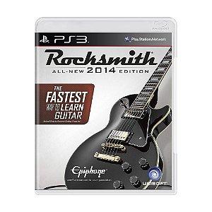 Jogo Rocksmith 2014 Edition - PS3