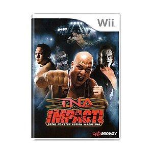 Jogo TNA Impact! - Wii