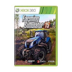 Jogo Farming Simulator 2015 - Xbox 360