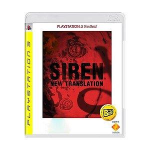 Jogo Siren New Translation - PS3