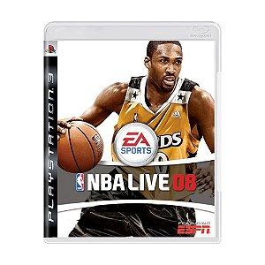 Jogo NBA Live 08 - PS3