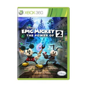 Jogo Epic Mickey 2: The Power of Two - Xbox 360