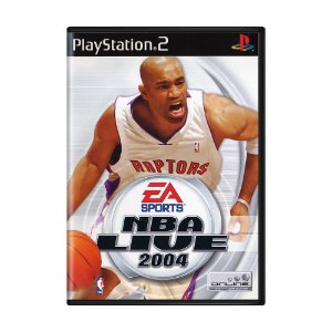 Jogo NBA Live 2004 - PS2