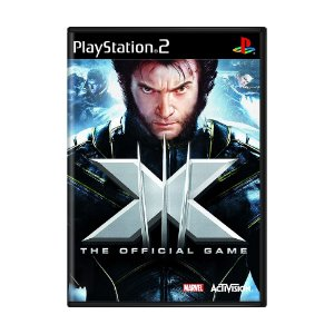 Jogo X-Men: The Official Game - PS2
