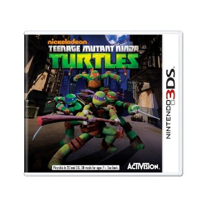 Jogo Teenage Mutant Ninja Turtles - 3DS