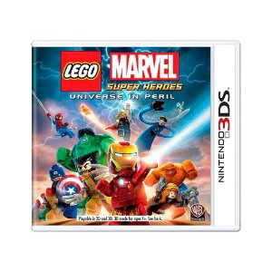 Jogo LEGO Marvel Super Heroes: Universe In Peril - 3DS
