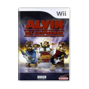 Jogo Alvin and the Chipmunks - Wii