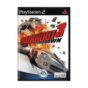 Jogo Burnout 3 Takedown - PS2