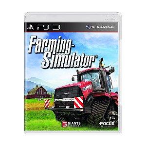 Jogo Farming Simulator 2013 - PS3