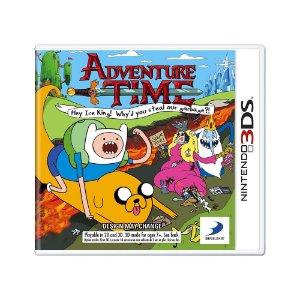 Jogo Adventure Time: Hey Ice King! Why'd You Steal Our Garbage?! - 3DS