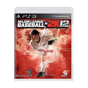 Jogo Major League Baseball 2K12 - PS3